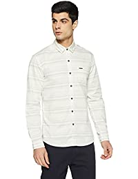 Wrangler Men's Solid Slim Fit Casual Shirt