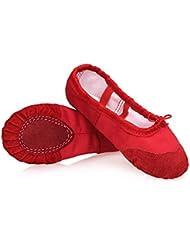 DoGeek Transpirable Zapatos de Ballet Zapatillas de Ballet de Danza Baile para Niña