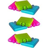ToCi–Acumuladores pequeños en azul, rosa y verde   Mini nevera y elementos para la nevera funda   nevera y batería para la–Fiambrera 12