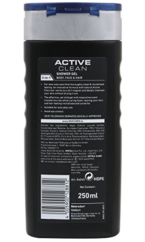 Nivea Men Active Clean Shower Gel (250ML)