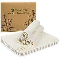 Juego de 6 toallitas de bambú hipoalergénicas, lavables, ...