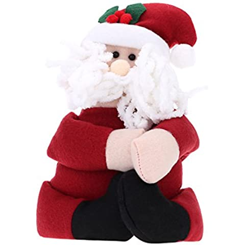 anself feliz navidad sostenedor de regalos de botella de toalla etc en forma