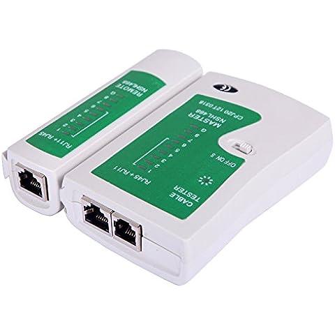 Cable de red Cable de teléfono comprobador de cables RJ11RJ45