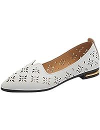 LHWY Sandalen Damen Sommer Damenmode Fip Flops Elegant Slippers Mädchen  Casual Point Toe Loafers Flache Arbeitsschuhe Damen… 992fc7e3d8