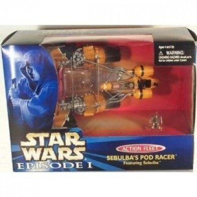 Star Wars Episode 1 - Action Fleet 68133 - Sebulbas Pod Racer