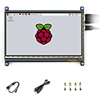 Waveshare 7 inch C LCD 1024*600 Rev2.1 Touch Screen Windows 10 HDMI interface Capacitive Monitor Display For Raspberry Pi3B+/3/2 B/B+/A