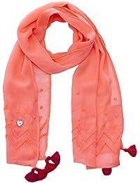 Catimini - Pañuelo para el cuello - Básico - para bebé niña naranja Orange (Fluo Néon) Talla única