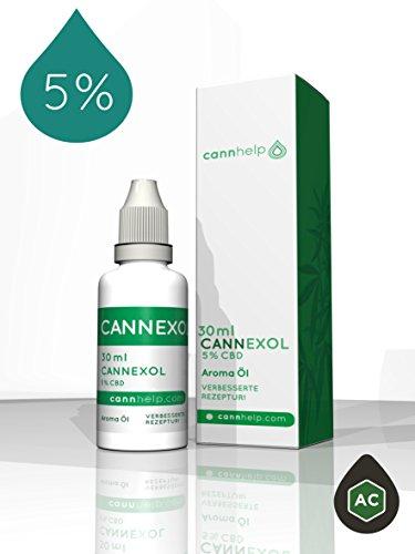 *CBD Öl 5% Cannexol 30ml 1500mg CBD*