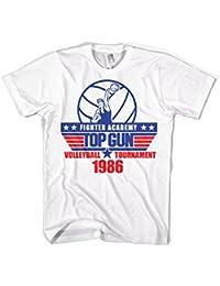 Offizielles Lizenzprodukt Top Gun - Volleyball Tournament T-Shirt (Weiß)