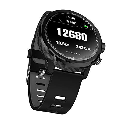 9302sonoaud L5 Inseguitore di Fitness per cardiofrequenzimetro con Orologio Smart Microwear Impermeabile Nero