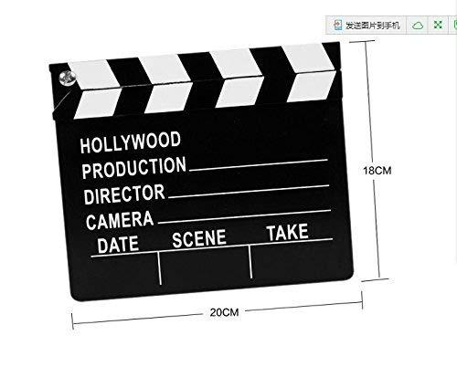 Fengh blaack und weiß Hollywood Holz Klöppel Board