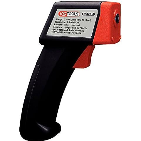 KS Herramientas de pintura digital Medidor de espesor de revestimiento metro del calibrador