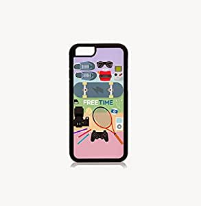 Krazycases Free Time Back Shell Cover For Iphone 6