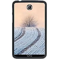 """Custodia per Samsung Galaxy Tab 3 P3200 - 7"""" - Albero Hoar Modo Gelo Invernale by Katho Menden"""