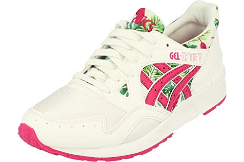 ASICS Gel-Lyte V GS Trainers C70NJ Sneakers Schuhe (UK 4.5 US 5 EU 37.5, White Sport pink 0119)