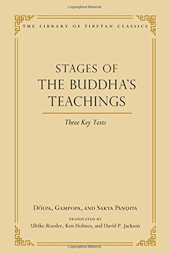 Stages of the Buddha's Teachings: Three Key Texts (Library of Tibetan Classics, Band 10)