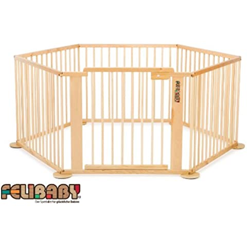 ONE4all 1+5 Cancelletto di sicurezza flessibile, box per bambini - Sistema 1 Box