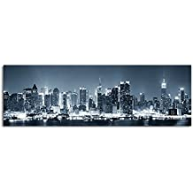 suchergebnis auf f r new york skyline leinwand schwarz weiss. Black Bedroom Furniture Sets. Home Design Ideas