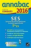 Sciences économiques et sociales : Sujets et corrigés