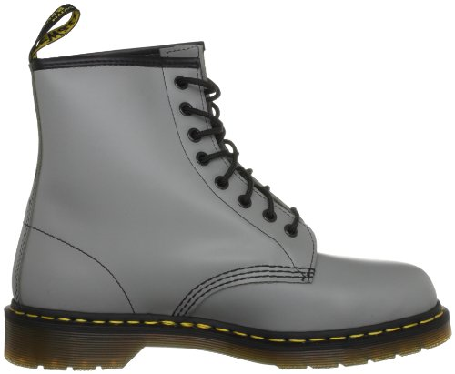 Dr. Martens 1460 Milled Smooth, Stivali Uomo Grigio (Smooth Grey)