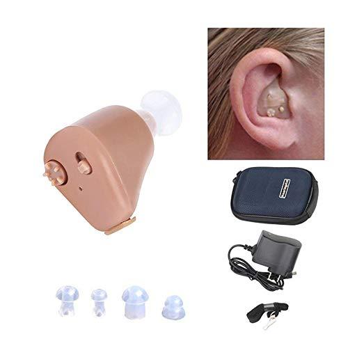 M-LKJ Nachfüllbare Hörgeräte für Old Hörgeräte Unsichtbare Ohrhörer für Hörgeräte