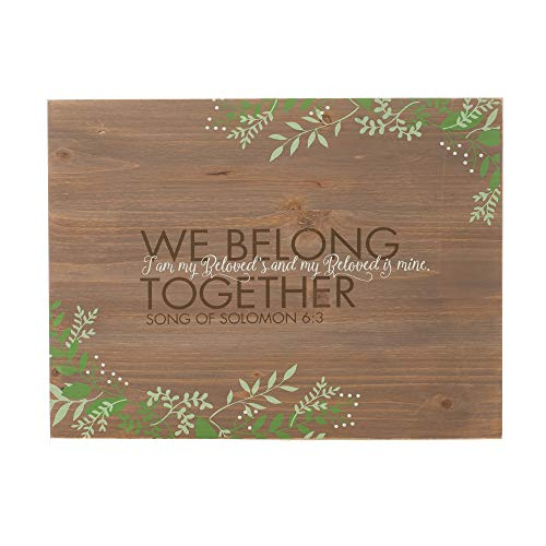 Song Salbei (Dicksons Wir gehören Zusammen verwitterter Salbei Zweige 16x 12Holz Wandschild Aufschrift)