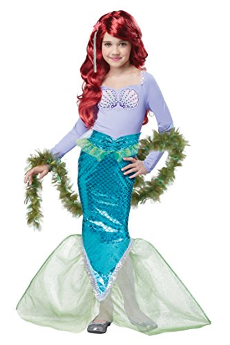 California Costumes Magical Little Mermaid Ariel Costume