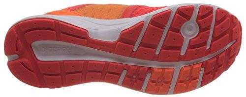 Reebok Exhilarun Chaussures de Sport Femme Rojo / Naranja / Blanco (Atomic Red/Electric Peach/Sunwash/White)