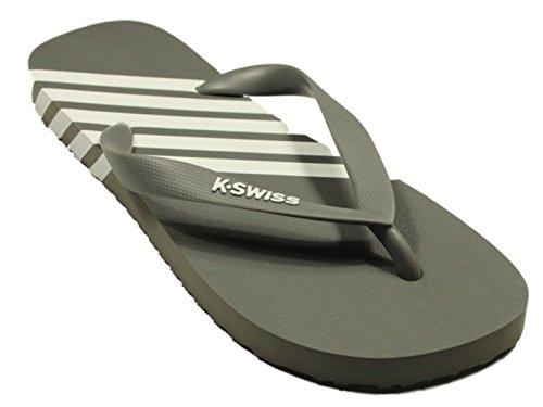 K-Swiss K-Flop Sandale ClassicBlue Dunkelgrau