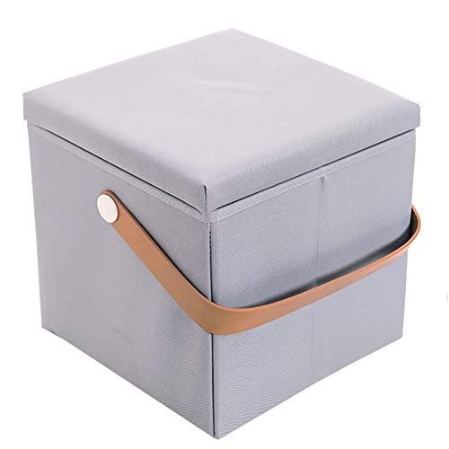 Tabouret, La boîte de rangement de valise de tabouret de rangement de tabouret se pliant portative, épargne l'espace reste d'intérieur,Tabouret De Canapé