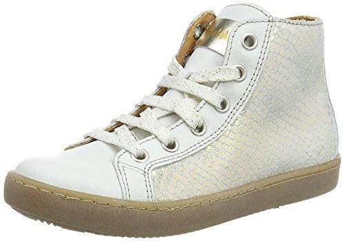 FRODDO Froddo Girls Ankle Boot White G3110078-5, Sneakers Hautes fille Blanc (Blanc)