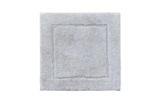 Casilin Orlando Tapis de bain Acrylique Gris Clair 60 x 60 cm
