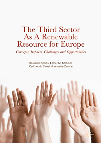 The Third Sector as a Renewable Resource for Europe: Concepts, Impacts, Challenges and Opportunities (English Edition) por Bernard Enjolras