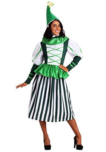 Plus Size Deluxe Munchkin Woman Fancy Dress Costume 2X