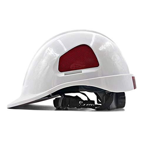 CL& Engineering Construction Helm-ABS Bauprojekt Baustellenlicht Anti-Kollision Ventilation Cap Leadership Survey Arbeitsversicherung Elektriker Helm (mehrfarbige Auswahl) BAU Schutzhelm