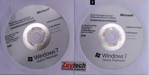 Microsoft Windows 7 Home Premium 32 & 64 Bit MAR