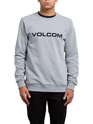 Volcom Imprint Crew Sweatshirt, Herren grau