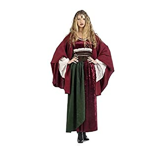 Limit Sport- Disfraz Capa Roja Medieval, M (NC833)