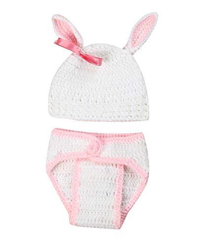 Rosa Kostüm Häschen - Baby Kostüm, Neugeborenes Baby Kostüm Rose Häschen Foto Props Baby Fotografie Requisiten Pink