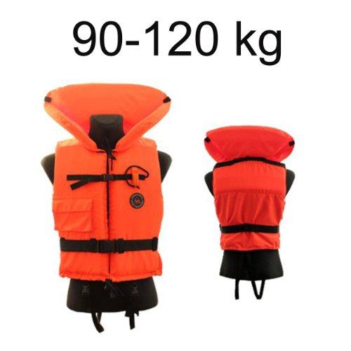 Rettungsweste Schwimmweste 90 - 120 kg 12402-4 incl. Signalpfeife