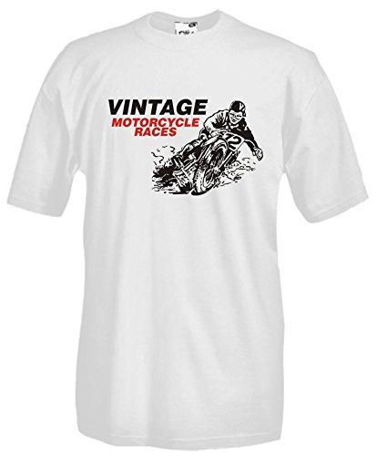 Settantallora - Camiseta - para hombre Bianco XX-Large