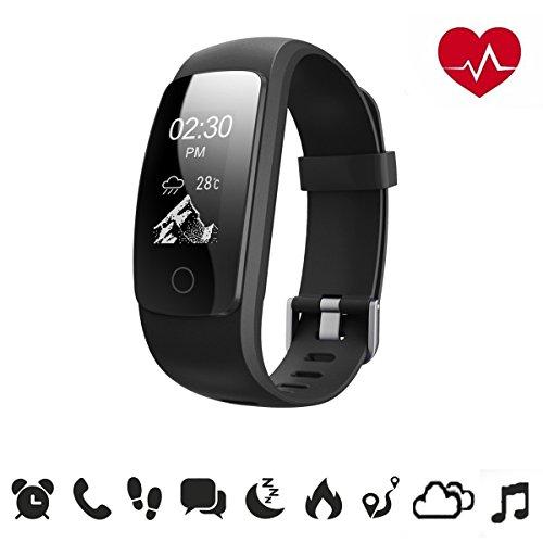 fitness-trackerdrillpro-heart-rate-activity-tracker-bluetooth40-smart-wristband-bracelet-id107plus-s