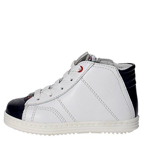 Bikkembergs BKP102399 Sneakers Boy Weiss/Blau QQxYOPri0f