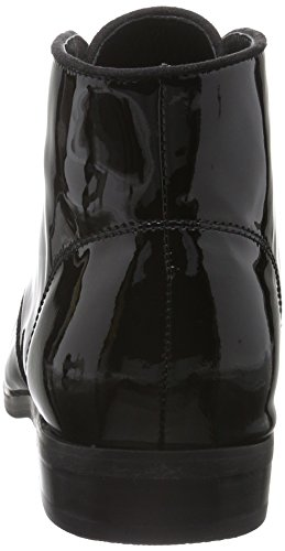 Buffalo London - 415-1271 Patent Leather, Stivali bassi con imbottitura leggera Donna Nero (nero (black 01))