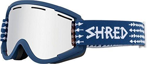 Shred NASTIFY Torpedo Platinum Schneebrille, Blue, one Size