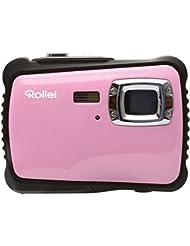 Rollei Sportsline 64 - Caméra digitale avec Capteur CMOS 5 mégapixels, Fonction vidéo HD 1280 x 720 pixels Zoom 8x - Rose