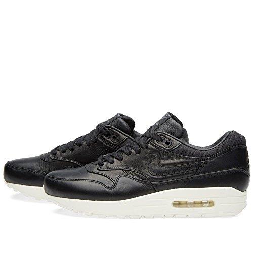Nike - Wmns Air Max 1 Pinnacle, Scarpe sportive Donna Black (Nero / Nero-Sail)