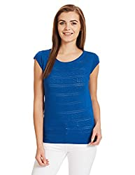 US POLO Womens Cotton Sweatshirt (UWFL0123_Classic Blue_Large)