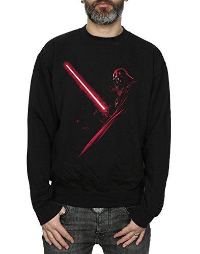 Star Wars Herren Darth Vader Shadow Sweatshirt Schwarz
