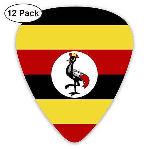 Uganda Falg Classic Guitar Picks 12-Pack,0.46/0.73/0.96 Mm Guitar